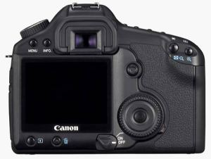 Canon EOS 5D MkII back